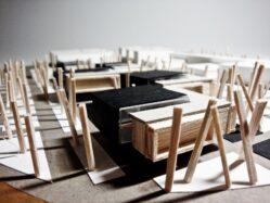 """residencia de estudiantes arquitectura"""