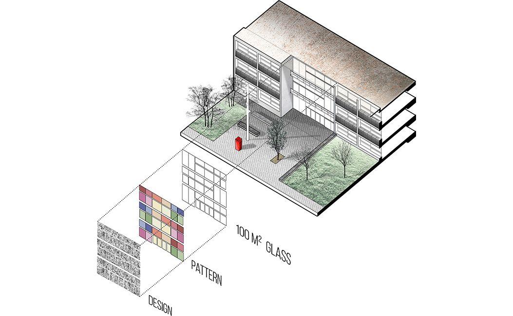 Axonometria-disseny-façana