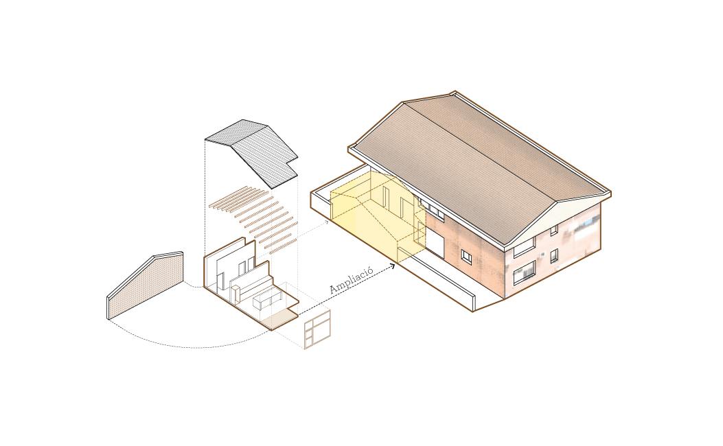 Axonometria-centro-de-ancianos-arquitectura